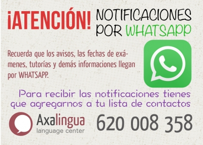 Notificaciones por Whatsapp